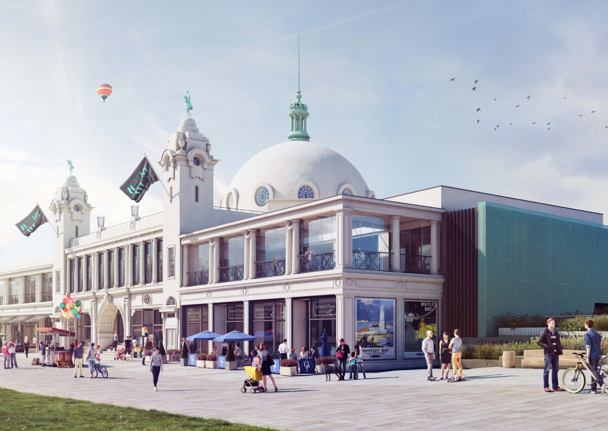 Spanish City Regeneration, Whitley Bay